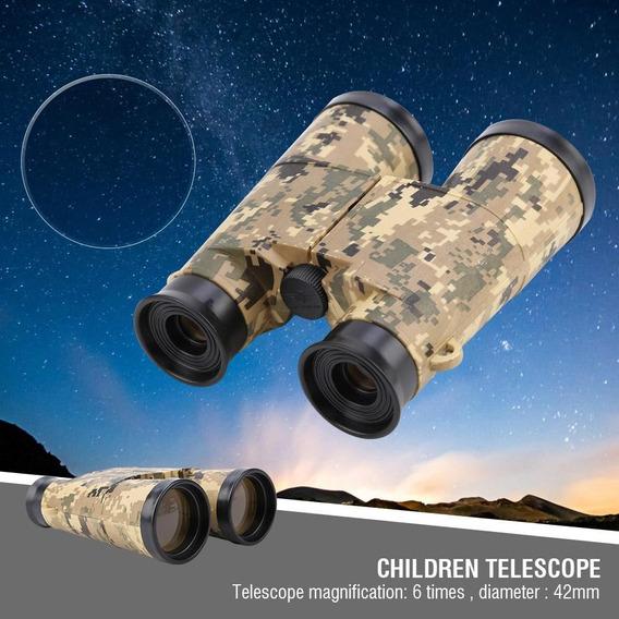 6 * 42 Telescópio Binóculo Ao Ar Livre Jogos Militar Brinq
