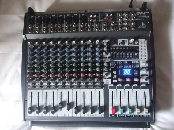 Mesa Behringer Pmp3000 . Obs : Amplificador Não Funciona .