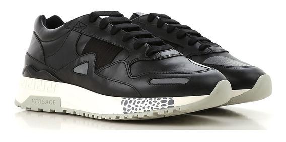 Tenis Versace Leather Achilles Originales Gucci Balenciaga