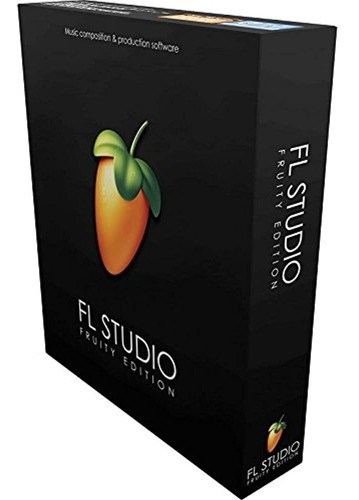 Linea De Imagen Fl Studio 20 Edicion Afrutada (caja)