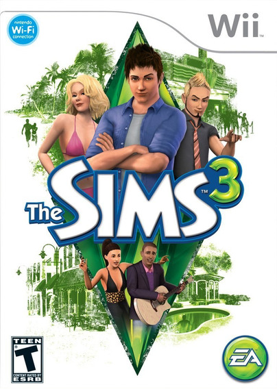 The Sims 3 - Wii - Mídia Física - Lacrado - Nota Fiscal