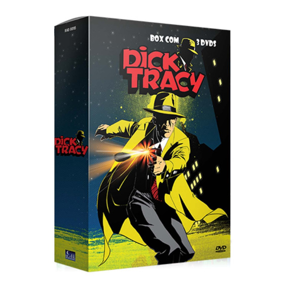 Box Dick Tracy (3 Dvds)