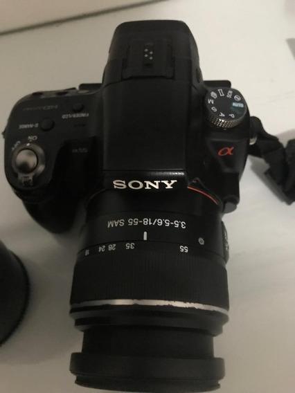 Câmera Youtube - Sony A55 + 18-55 - Aceito Troca