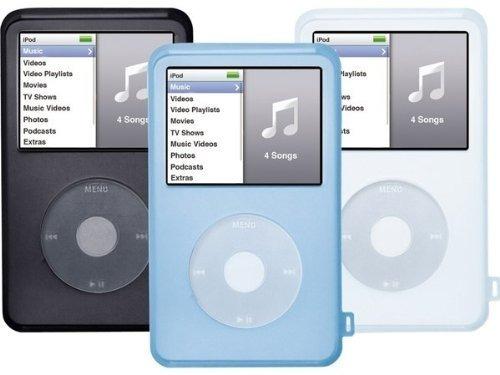 Forro De Silicon Para iPod Clasic Video 160gb 7ma Generacion