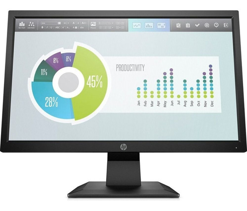 Monitor 20  Led Hp P204v (5rd66aa) Hdmi
