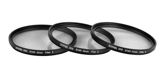 Zomei 49mm Profissional Dslr Câmera Star-efeito Lente Filte