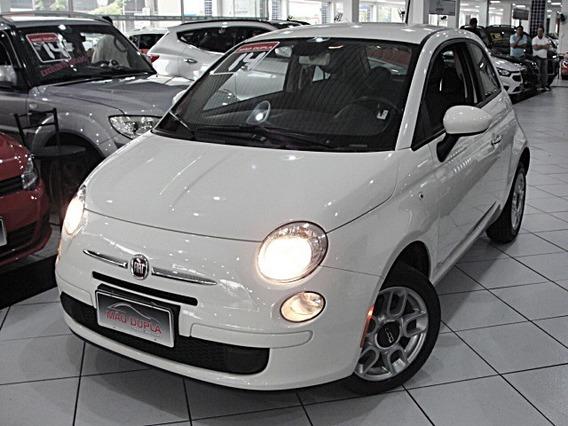 Fiat 500 1.4 Cult Flex Dualogic 2014 Completo 72.000 Km Novo