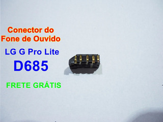 Conector Do Fone Lg G Pro Lite D685