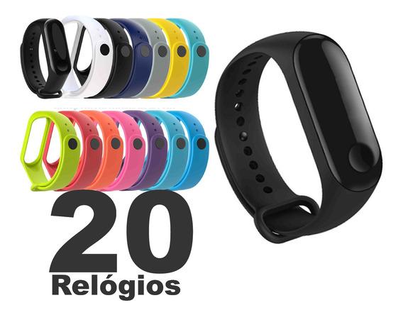 Kit 20 Relógio Pulseira Digital Led Sport Atacado Oferta !!