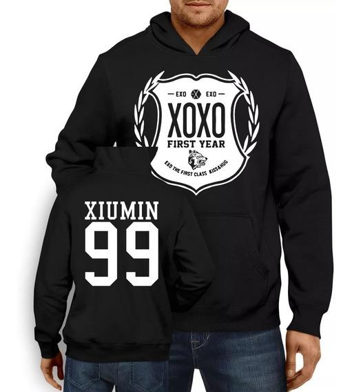 Blusa De Frio Moletom Agasalho Kpop Exo Xoxo Xiumin 99