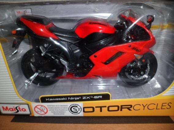 Maisto Moto Kawasaki Ninja Zx 6r 1-12