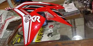 Juego De Cachas Color Rojo De Tanque Corven Txr L 250