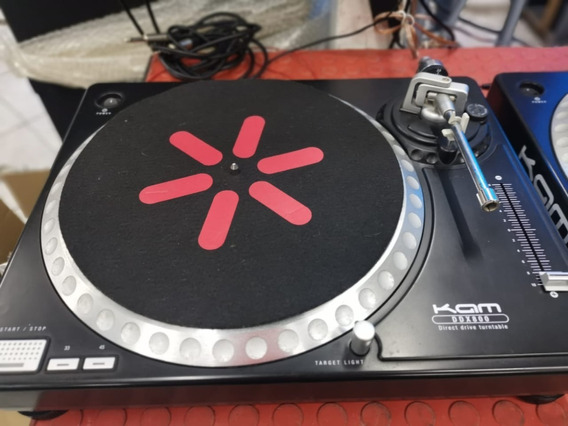 Toca Discos Para Dj Kam Ddx 800 Com Shell E Agulha