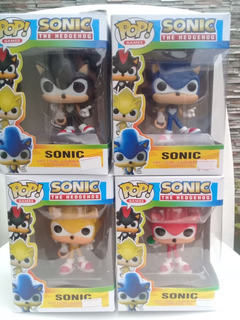 Sonic, Figuras Simil Funko Pop. Excelente Calidad