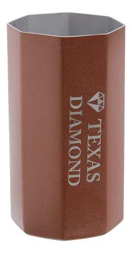 Imagem 1 de 1 de Copo Para Tereré Aço Inox Rose Octo Texas Diamond 29540