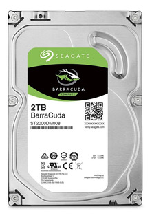 Disco Duro De 2tb Interno S.ata Seagate Barracuda 7200rpm