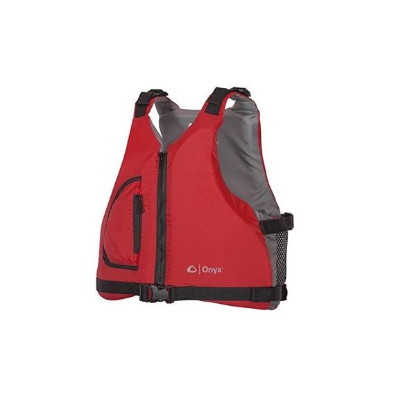 Onyx Youth Paddle Sports Life Jacket, Rojo