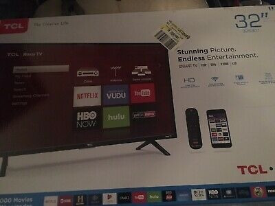 Tcl 32s305 32-inch 720p Roku Smart Led Tv (300 Trum)