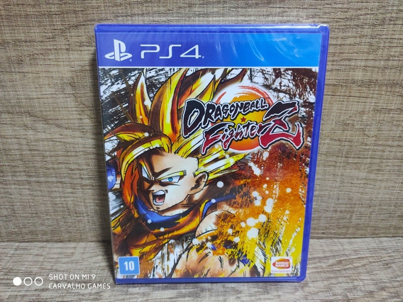 Dragon Ball Fighter Z Ps4 - Lacrado