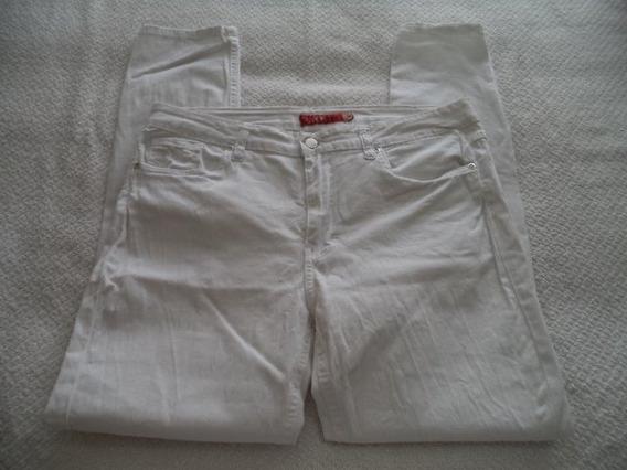 Pantalon Skinny Strech Blanco Dama Talla 11 Y 13 Rematados