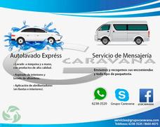 Autolavado A Domicilio, Servicio De Mensajeria