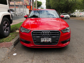 Audi A3 1.4 Ambiente At 2015 Rojo