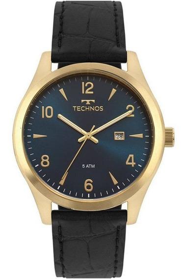 Relógio Technos Masculino Steel 2115mrx/2a Dourado - C/ Nfe