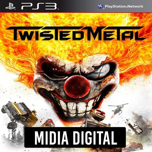 Twisted Metal - Ps3 Psn*