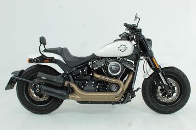 Harley-davidson Softail Fat Bob 107 2018 Branca