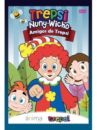 Dvd Compacto Musica Infantil Niños Trepsi Y Sus Amigos