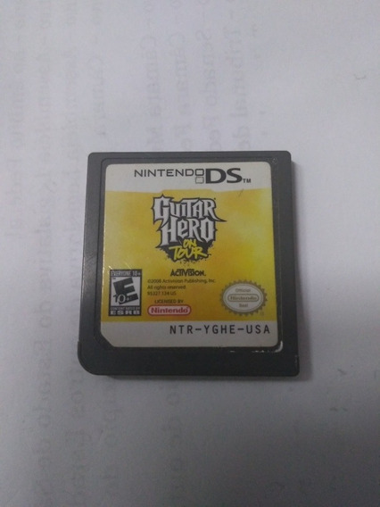 Jogo Nintendo Ds Guitar Hero On Tour