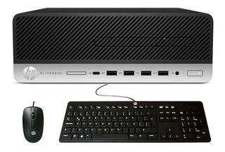 Pc Desktop Hp Elitedesk 705 G4 Sff Amd Ryzen 5 Pro 2400g 8gb