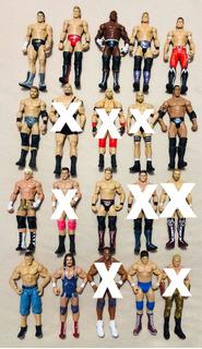 Figuras Luchadores Wwe Mattel Básica Y Elite A Elegir Nxt