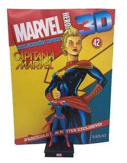 Figuras Marvel 3d Nº 42 Capitana Marvel