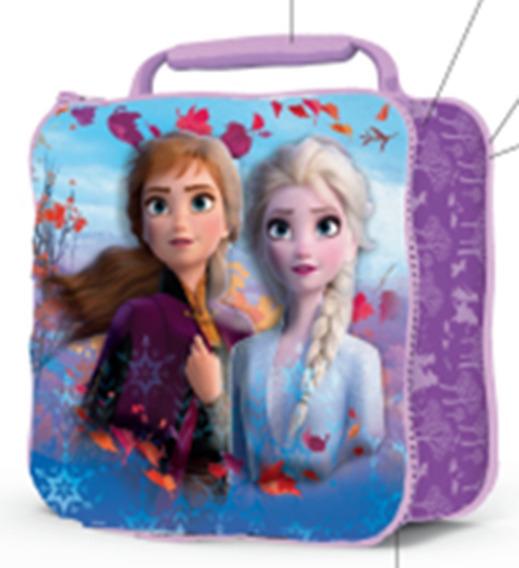 Lunchera 3d Conservadora Termica Personajes Disney Babymovil