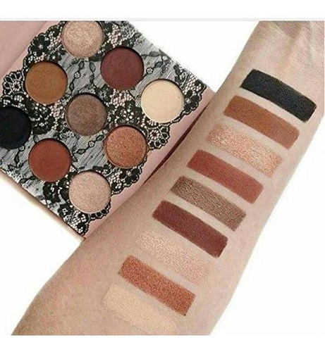 Paleta De Sombras Boudoir Shadows Beauty Creations Original