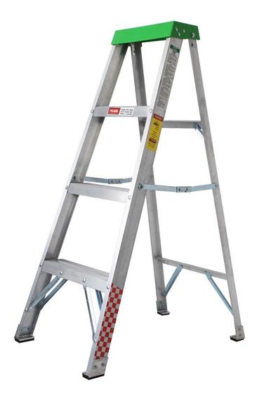 Escalera Tijera Aluminio 3 Peldaños Tipo Iii Envio Gratis