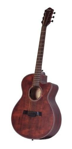 Guitarra Electroacústica Parquer Caoba Gac330mfeq