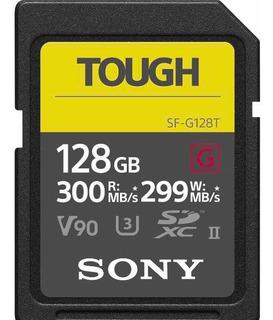Cartão De Memória Sd Sony Profissional 128gb 300-299mb/s