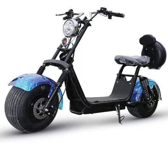 Scooter Elétrica, Patinete Elétrico, Citycoco, Moto 1500w