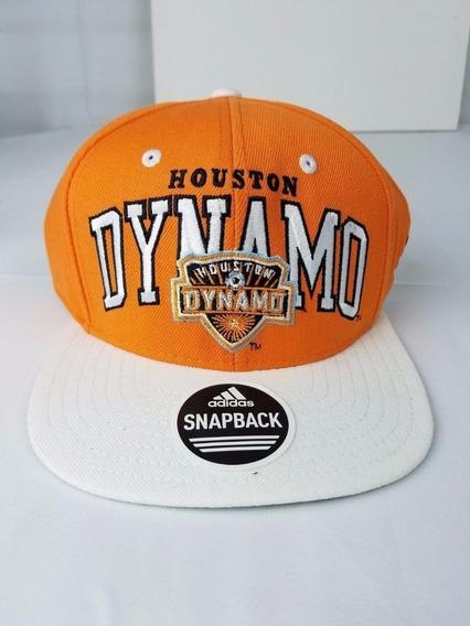 Gorra Plana - Mls - adidas - Snapback - Houston Dynamo