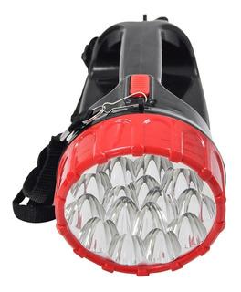 Lanterna Holofote Super 18 Leds Bivolt Recarregavel Promoçao