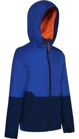 Chamarra Impermeable Transpirable Niños Camping Hike 500