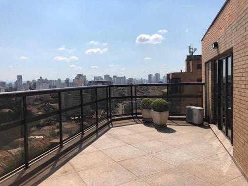 Cobertura Com 4 Dormitórios À Venda, 460 M² - Parque Da Mooca - São Paulo/sp - Co0013