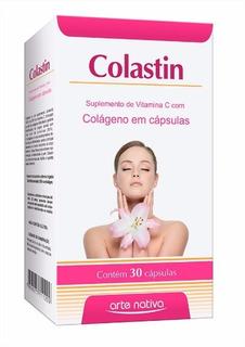 Colastin 30 Cápsulas 300mg (vit C + Colágeno) - Arte Nativa