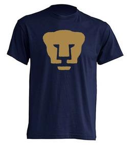 Camiseta Estampada Pumas Oro