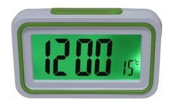 Relógio Despertador Fala A Hora Deficiente Visual Idoso