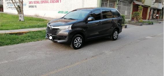 Toyota Avanza 2018-2017 Uso Particular .