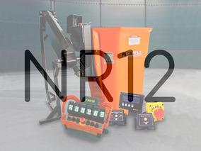 Conjunto Nr12 - Cesto Autonivelado + Controle - Completo