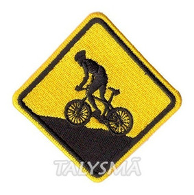 Patch P/ Camisa Ciclista Mountain Bike Trilha Terra Ad30074